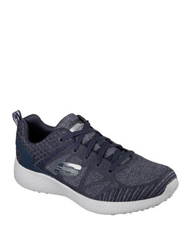 Skechers Sketchers Burst Running Shoes-NAVY/GREY-9.5 88103949_NAVY/GREY_9.5