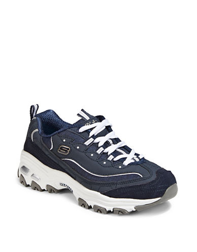Skechers D-Lites Sneakers-NAVY-5