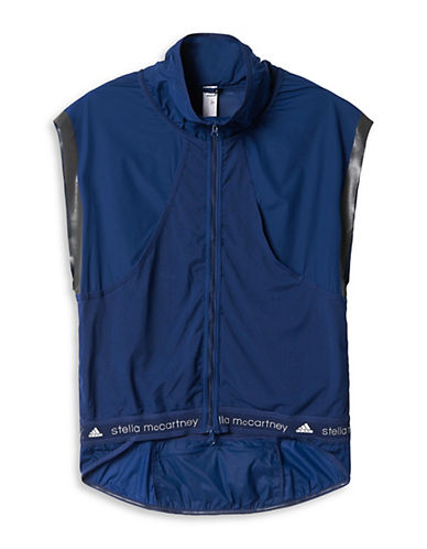 Stella Mccartney Adizero Cycling Vest-BLUE-X-Small 88166720_BLUE_X-Small