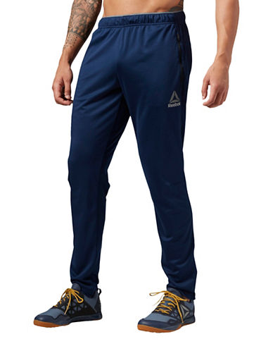 Reebok Workout Ready Stacked Logo Track Pants-BLUE-Large 89073324_BLUE_Large