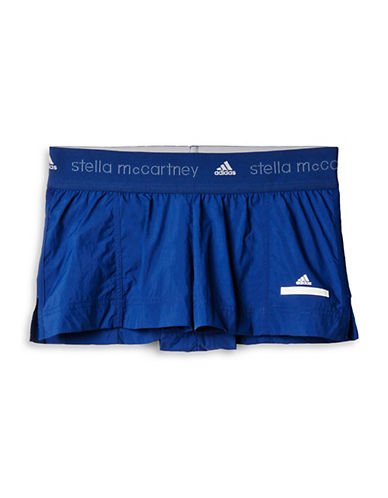 Stella Mccartney Low-Waste Shorts-BLUE-Medium 88166693_BLUE_Medium