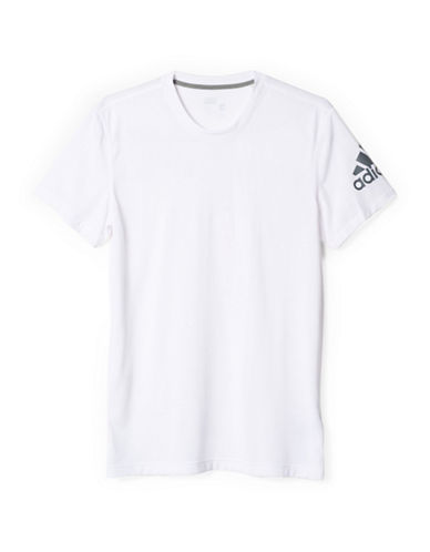 Adidas Prime Drydry Workout Tee-WHITE-Small
