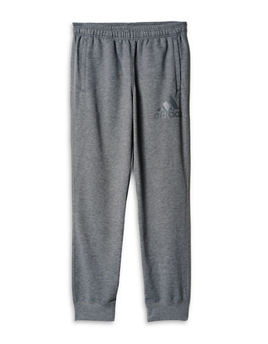 Adidas Prime Jogging Pants-GREY-Medium