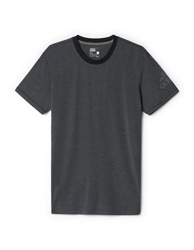 Adidas Prime Drydry Workout Tee-GREY-Small 88077304_GREY_Small