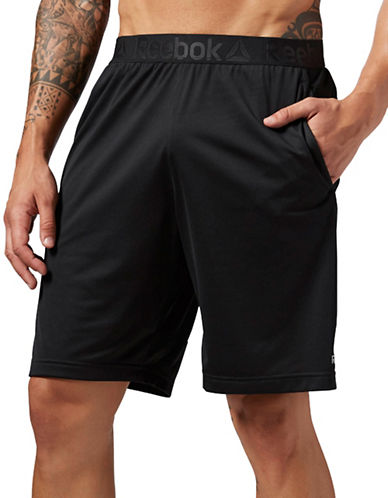 Reebok Workout Ready Stacked Logo Short-BLACK-Medium 88778492_BLACK_Medium
