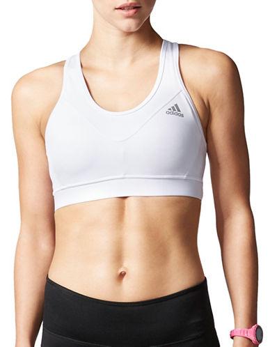 Adidas Techfit Sports Bra-WHITE-X-Large