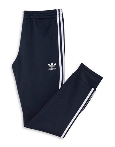 Adidas Superstar Cuffed Track Pants-BLUE-Large 88208895_BLUE_Large