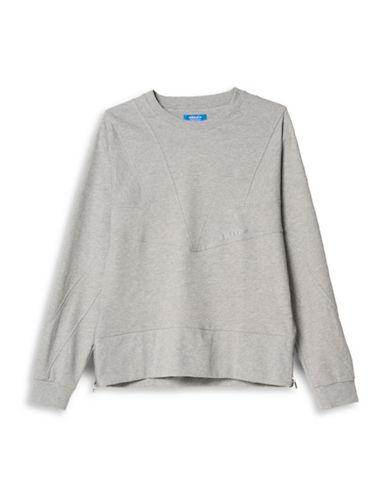 Adidas Street Modern Cutline Sweatshirt-GREY-X-Large 88208911_GREY_X-Large