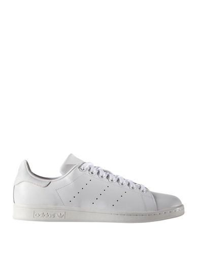 Adidas Mens Stan Smith Sneakers-WHITE-8.5
