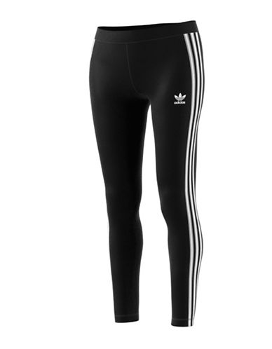 Adidas Three Stripes Leggings-BLACK-Medium 88560927_BLACK_Medium