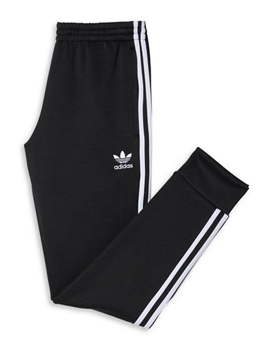 Adidas Superstar Cuffed Track Pants-BLACK-X-Large