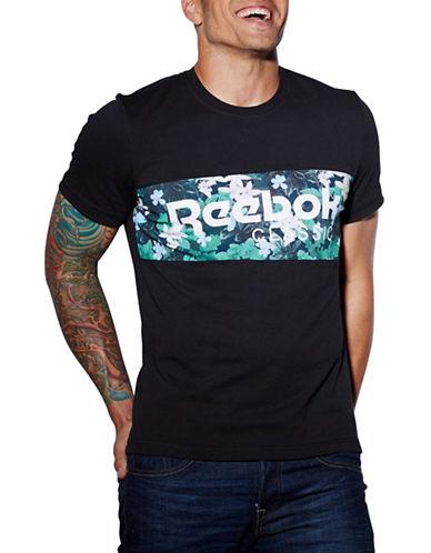 Reebok Graphic Logo Print T-Shirt-BLACK-Medium 88382278_BLACK_Medium
