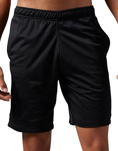 Reebok Work Out Ready Mesh Shorts-BLACK-Large 88778466_BLACK_Large