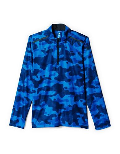 Adidas Cool365 Long Sleeve Army Print Tee-BLUE-Large 88077390_BLUE_Large