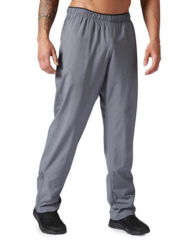 Reebok Work Out Ready Woven Pants-GREY-Medium 88778470_GREY_Medium