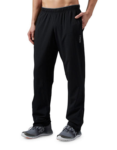 Reebok Workout Ready Woven Pants-BLACK-Large 88431220_BLACK_Large