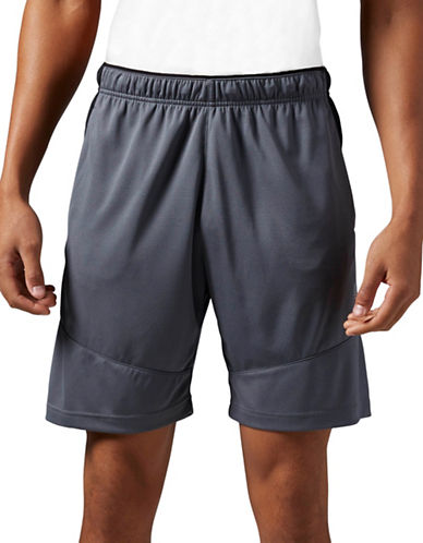 Reebok SpeedWick Knit Shorts-GREY-Large 88091931_GREY_Large