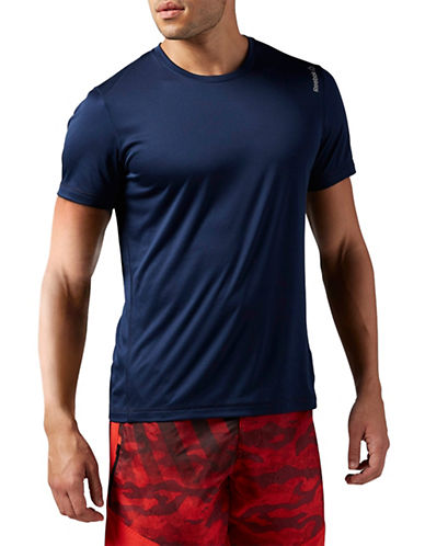 Reebok Workout Ready Premium Tech Top-NAVY-X-Large 88091917_NAVY_X-Large