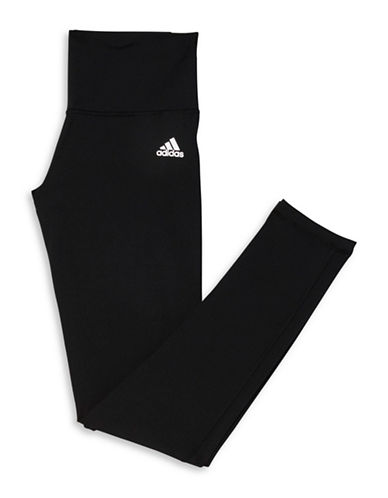 Adidas Performer Mid-Rise Tights-BLACK-X-Large 88468832_BLACK_X-Large