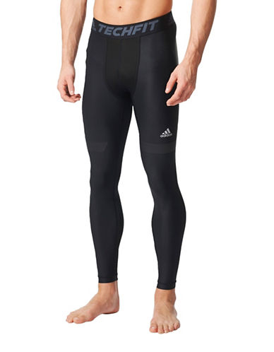 Adidas Techfit Chill Long Tights-BLACK-X-Large