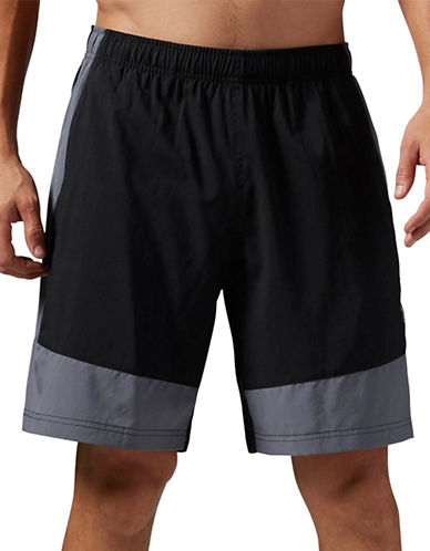 Reebok Speedwick Woven Shorts-BLACK-Large 88778456_BLACK_Large