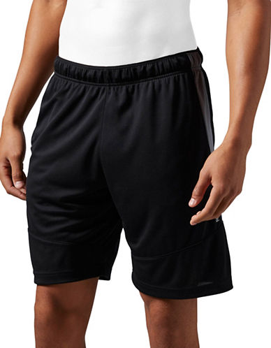 Reebok SpeedWick Knit Shorts-BLACK-Large 88091936_BLACK_Large