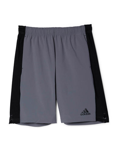 Adidas Contrast Team Issue Woven Shorts-GREY-Large 88077440_GREY_Large