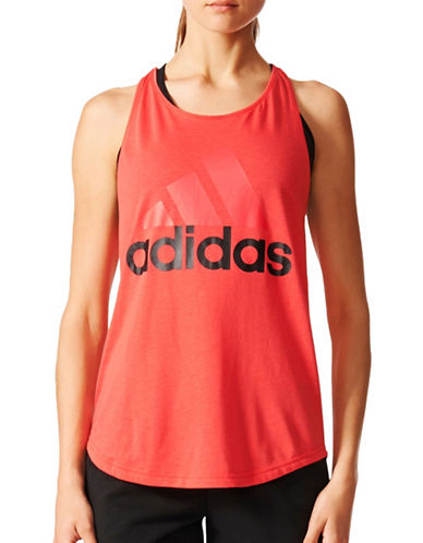Adidas Essentials Linear Loose Tank Top-PINK-Small 89080403_PINK_Small