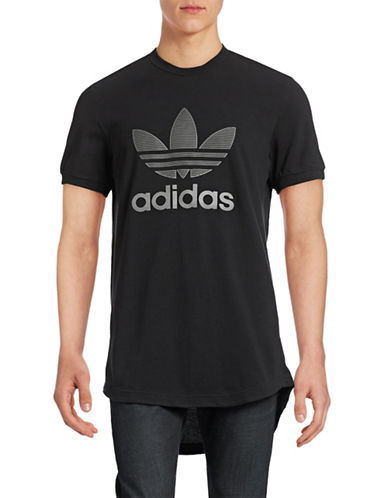 Adidas Adi Edition Longline Pique T-Shirt-BLACK-Medium 88779426_BLACK_Medium