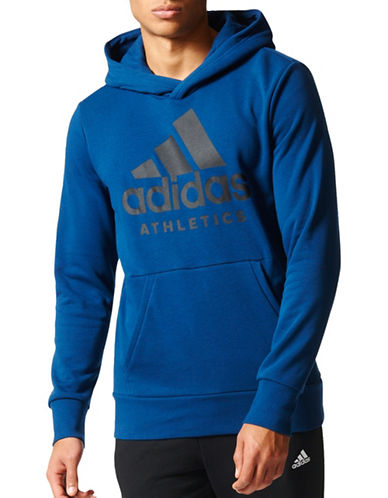 Adidas Sport ID Pullover Hoodie-BLUE-Small 88969290_BLUE_Small