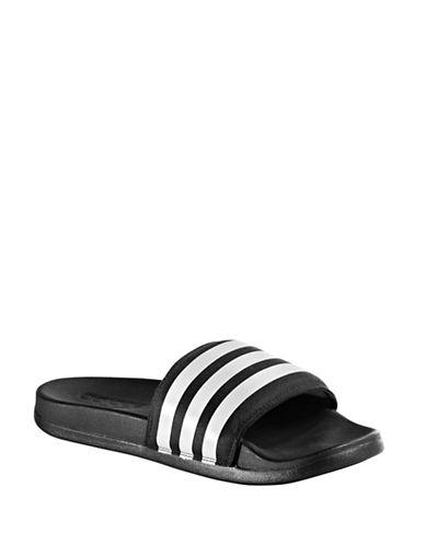 Adidas Slip-On Slides-BLACK-10