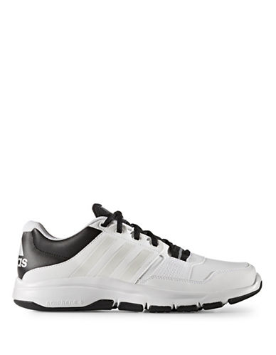Adidas Gym Warrior .2 Shoes-WHITE/BLACK-11 88458425_WHITE/BLACK_11