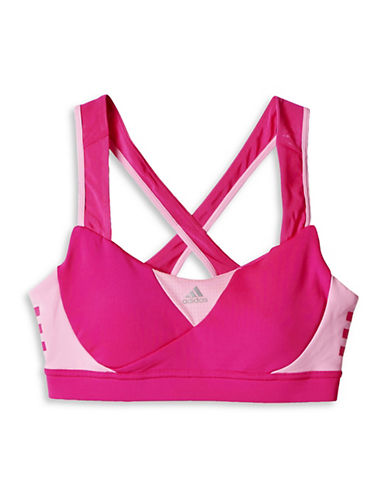 Adidas Two Tone Sports Bra-PINK-X-Small 88320627_PINK_X-Small