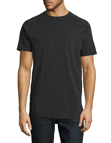 Publish Brand Index Raglan T-Shirt-BLACK-X-Large