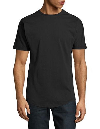 Publish Brand Scallop T-Shirt-BLACK-Medium 89179067_BLACK_Medium