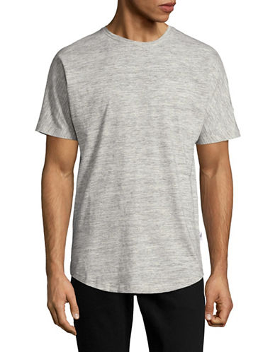 Publish Brand Scallop T-Shirt-GREY-Small 89179073_GREY_Small