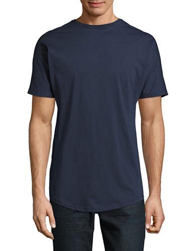 Publish Brand Scallop T-Shirt-BLUE-X-Large