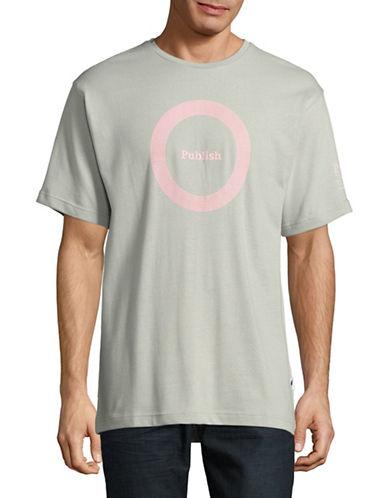 Publish Brand Sounds Short Sleeve Sweatshirt-GREY-Large 89267164_GREY_Large