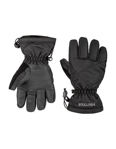 Marmot Boys Glade Gloves-BLACK-Medium