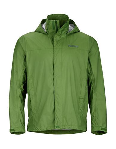 Marmot Solid Precip Jacket-GREEN-Small 89017694_GREEN_Small