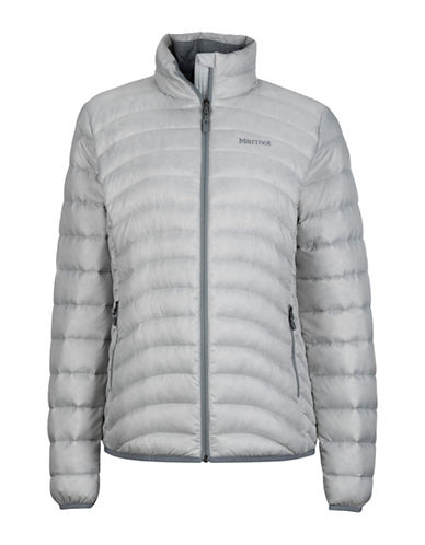 Marmot Aruna Hooded Jacket-GREY-X-Small
