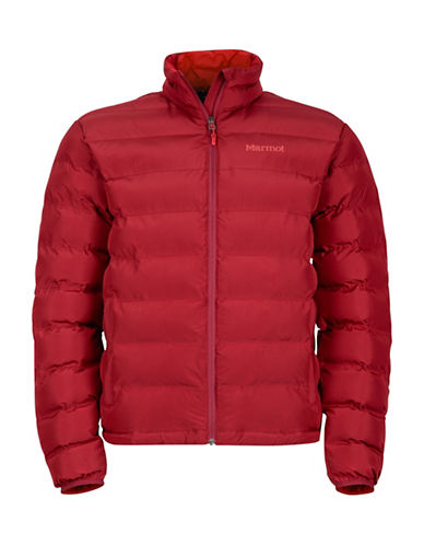 Marmot Alassian Puffer Jacket-RED-Small