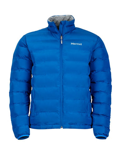 Marmot Alassian Puffer Jacket-BLUE-Medium
