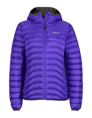 Marmot Aruna Hooded Jacket-BLUE-Medium