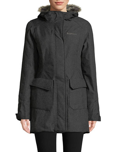 Marmot Georgina Featherless Long Jacket-BLACK-Medium
