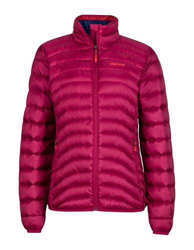 Marmot Aruna Hooded Jacket-RED-Medium