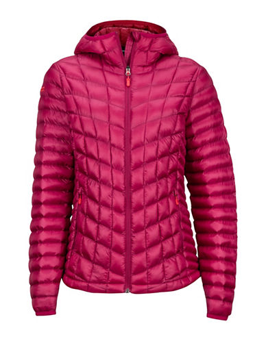 Marmot Marmot Featherless Hoody-RED-Medium