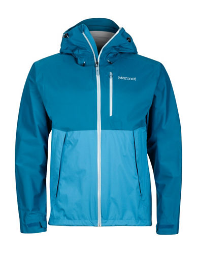 Marmot Magnus Zip-Front Jacket-BLUE-Large
