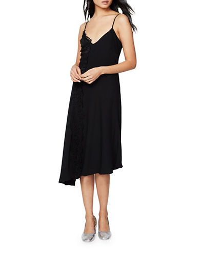 Rachel Rachel Roy Lace Slip Dress-BLACK-6