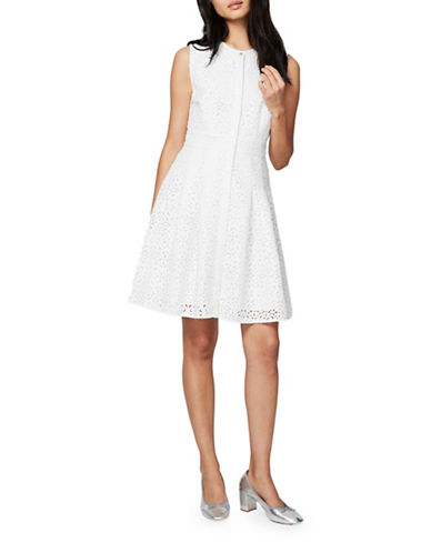 Rachel Rachel Roy Laser-Cut Shirt Dress-WHITE-10
